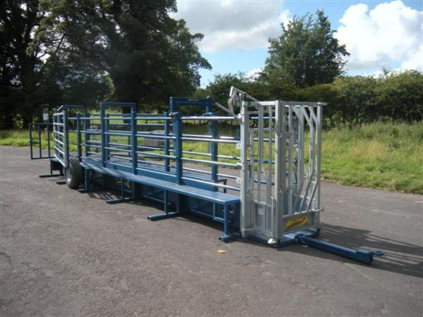 Agrimac Mobile Cattle Handling Crush