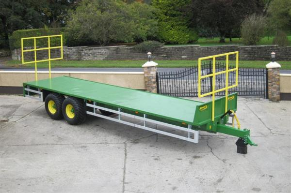 Agrimac Heavy Duty Bale Trailers