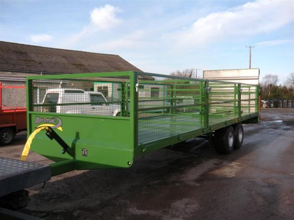 Agrimac Spud, Bale, Cattle Trailer