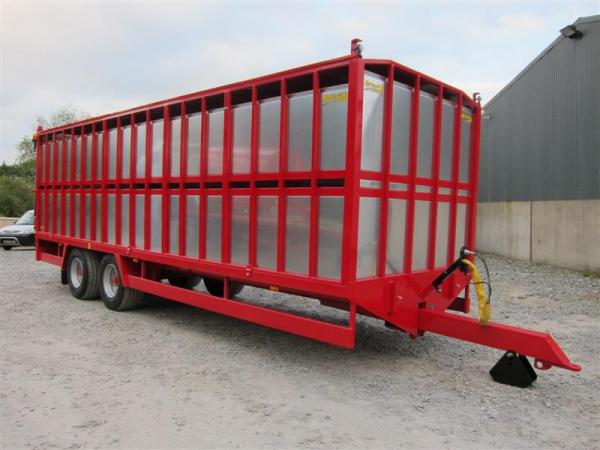 Agrimac Demountable Livestock Trailer