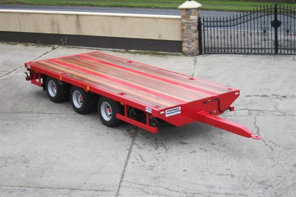 Agrimac Tri Axle Adjustable Container Carrier