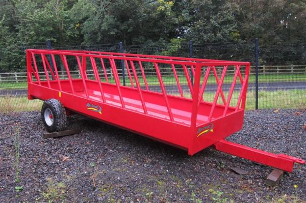 New Agrimac Feed Trailer