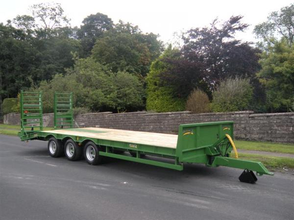 Agrimac Tri Axle Low Loader