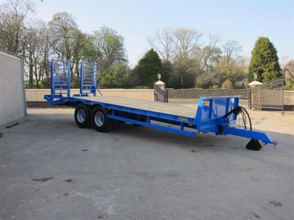 Low Loader ready for delivery to Herts.