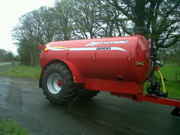 2600 Gallon Tanker on its way to Moneymore area today.