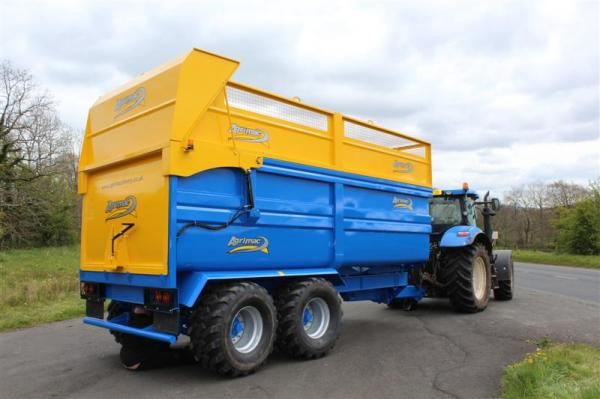 Newly Designed Agrimac Silage Trailers