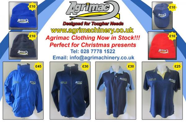 Now Stocking Agrimac Merchandise!!!