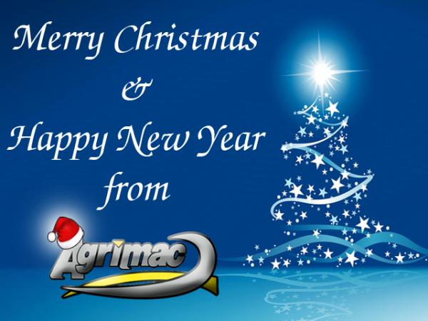 Merry Christmas & Happy New Year from Agrimac