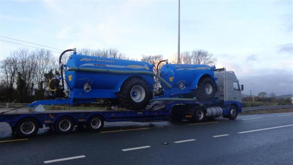 Todays Delivery to Co.Cork - 19-12-12