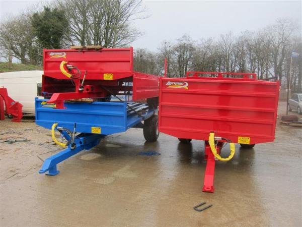 6 Basic Trailers to Staffordshire (30-01-13)