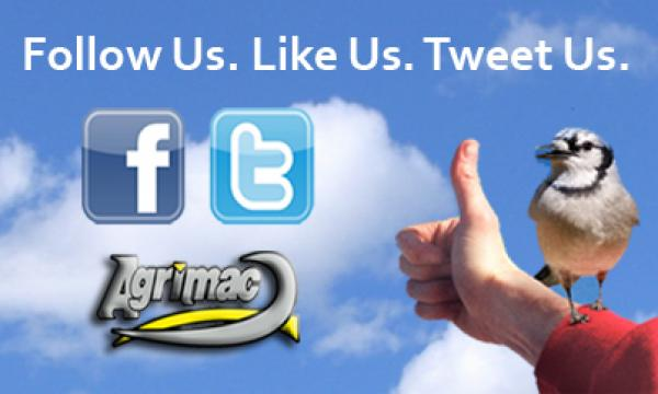 Follow Us. Like Us. Tweet Us.
