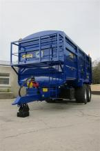 Agrimac 16 Tonne Grain Trailer With Fixed Greedy Boards